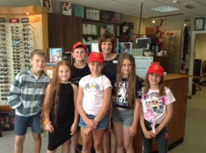 Lesley Cree Opticians support Chernobly Children Visit