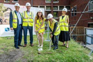Henry Brothers breaks ground at Nottingham Trent University's Enterprise Innovation Centre