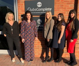 Mary Keeling & Charlotte Barnett from Blueprint Interiors with Leah Moore, Amelia Gillespie and Stacey Dean from Primary PPA Cover