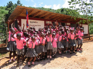 Previous buildOn project completed in Ferrier, Haiti
