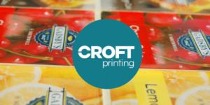 Food packaging label printer