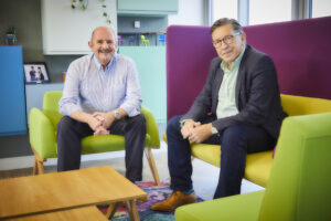 Rob Day and Mike McKeown Blueprint Interiors Commercial Office Fit Out